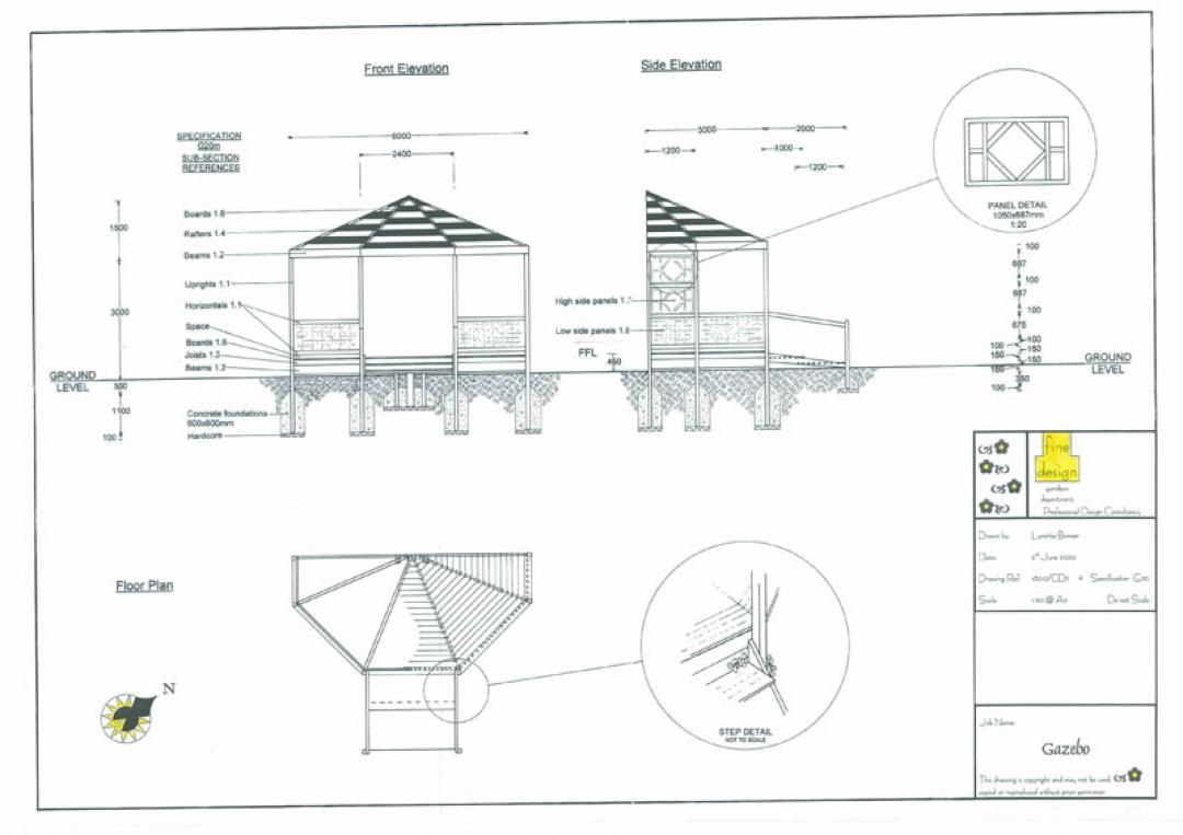 Examples of Visuals & Construction Drawings | Fine Design